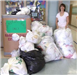 America Recycles Day Plast Bag Recycling Project