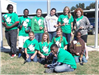 Junior Leaders from West Baton Rouge Parish planting Spring bulbs