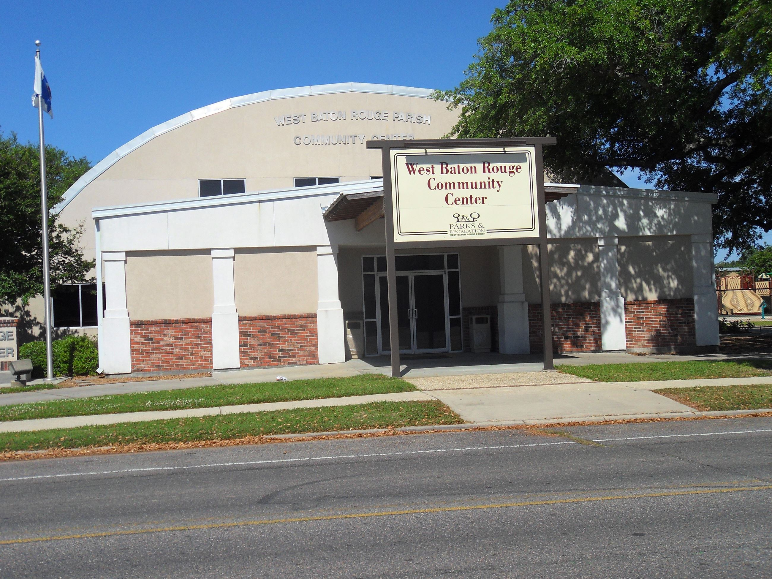 West Baton Rouge Community Center Building