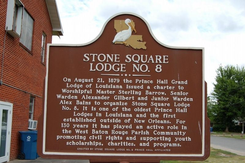 Stone Square Lodge Number 8
